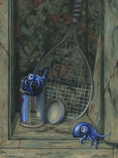 Racquetball Squid