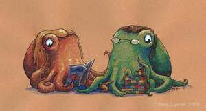 Cephalopod Commission: RW by MegLyman