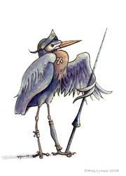 Hardy Heron by MegLyman