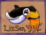 Badge: LizSan
