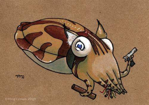 Glycolsardius Cuttlefish