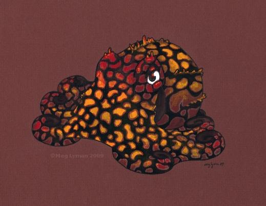 Poison Dart Octopus by MegLyman