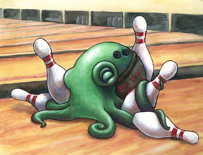 Octobowling by MegLyman