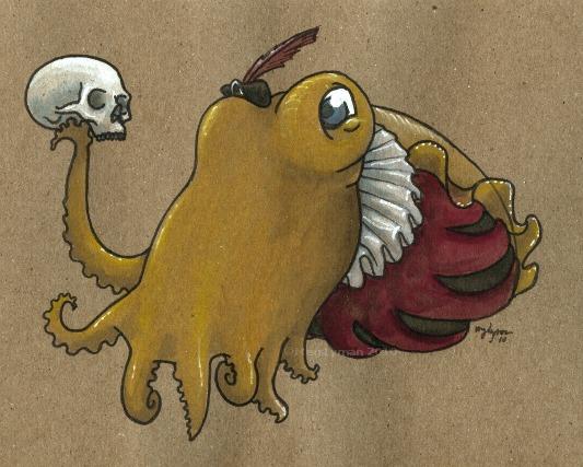 Hamlet Cuttlefish by MegLyman
