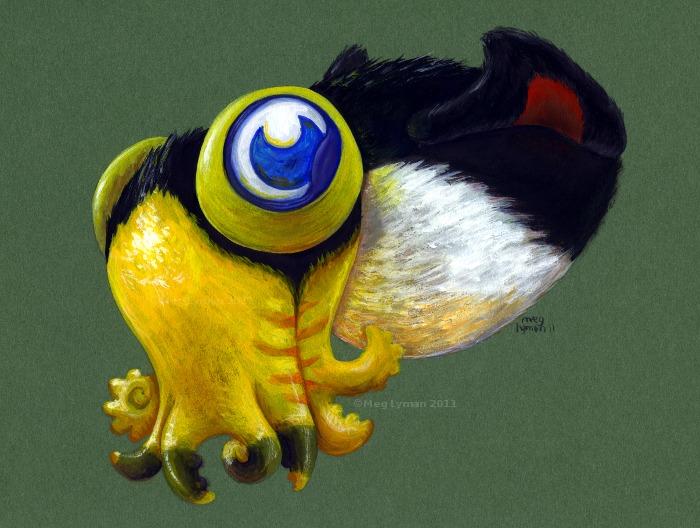 Toco Squid Juvenile by MegLyman