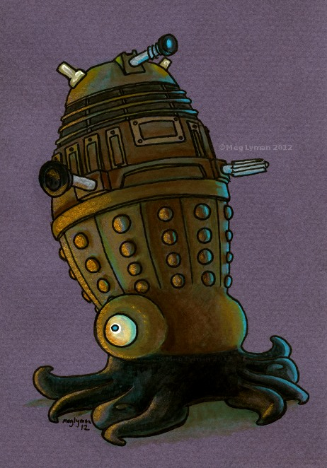 Dalek by MegLyman