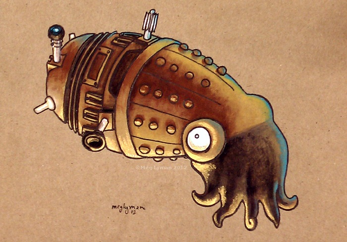 Dalek, Take 2 by MegLyman