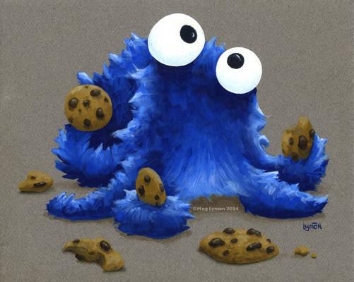 Cookie Monster Octopus