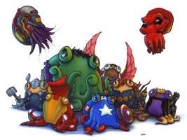 Avengers Assemble by MegLyman