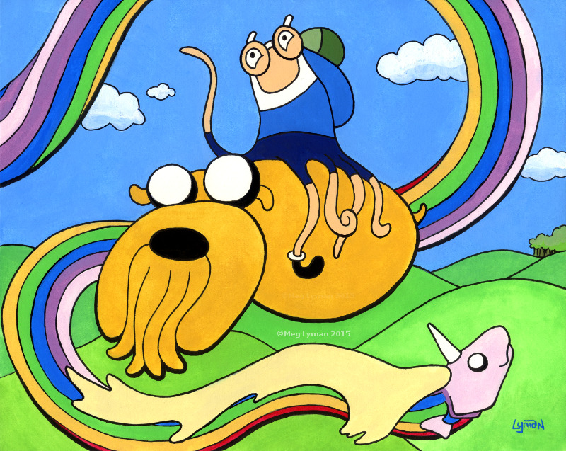 Adventure Time! by MegLyman