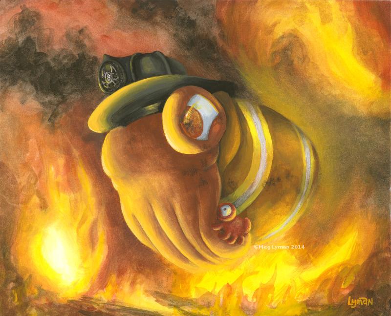 Firefighter by MegLyman