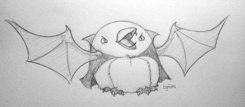 Vampire Penguin by MegLyman