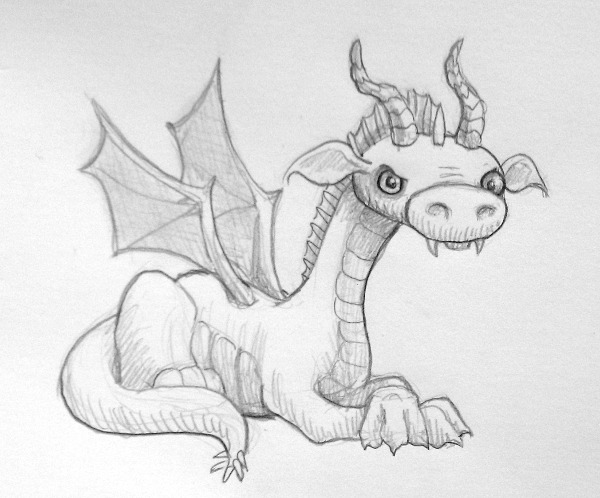 Dragon by MegLyman