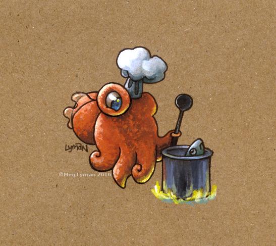 Chefalopod by MegLyman