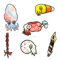 Candy Cephalopods