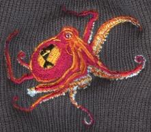 CrashOctopus Hat Closeup by MegLyman