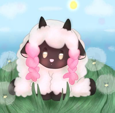 Precious Fluffy Sheep by pansexualdoodles