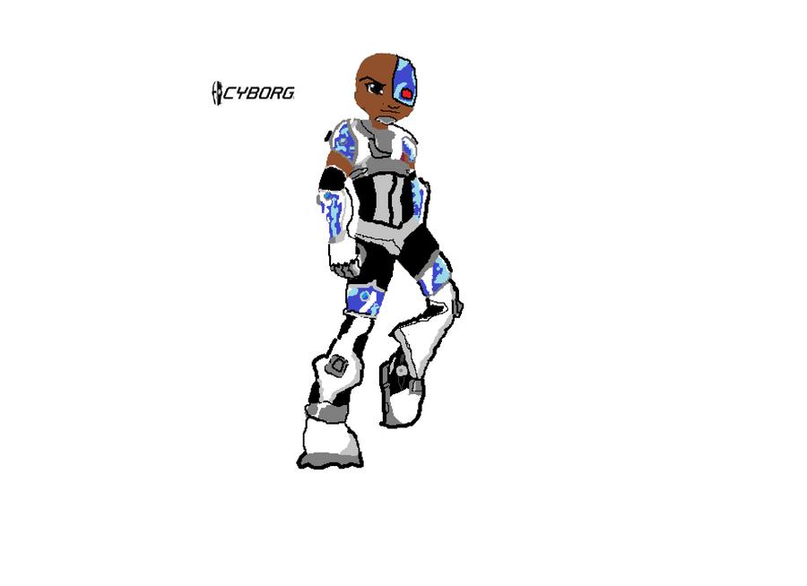 cyborg by darren1203