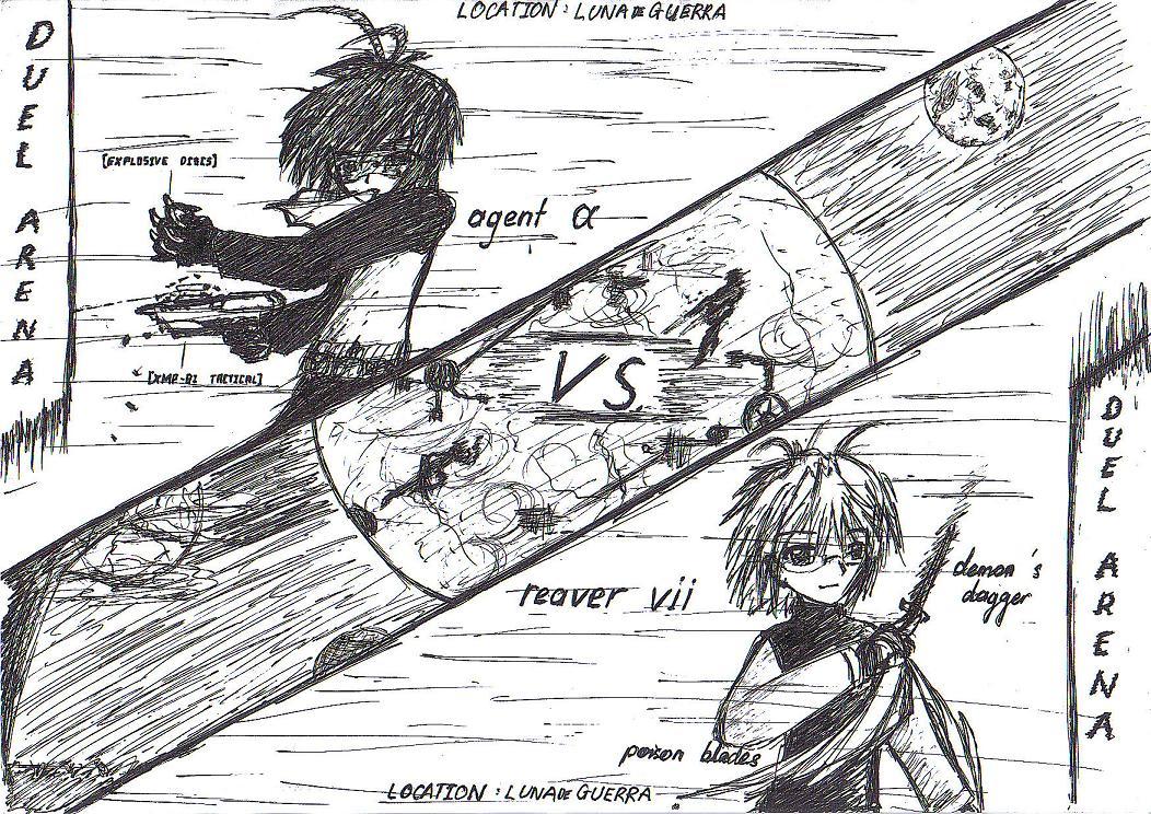 Duel Arena 1 by KajiTetsushi