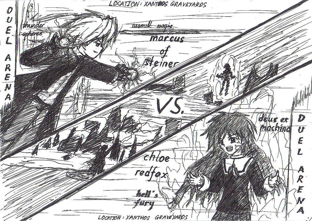Duel Arena 2 by KajiTetsushi