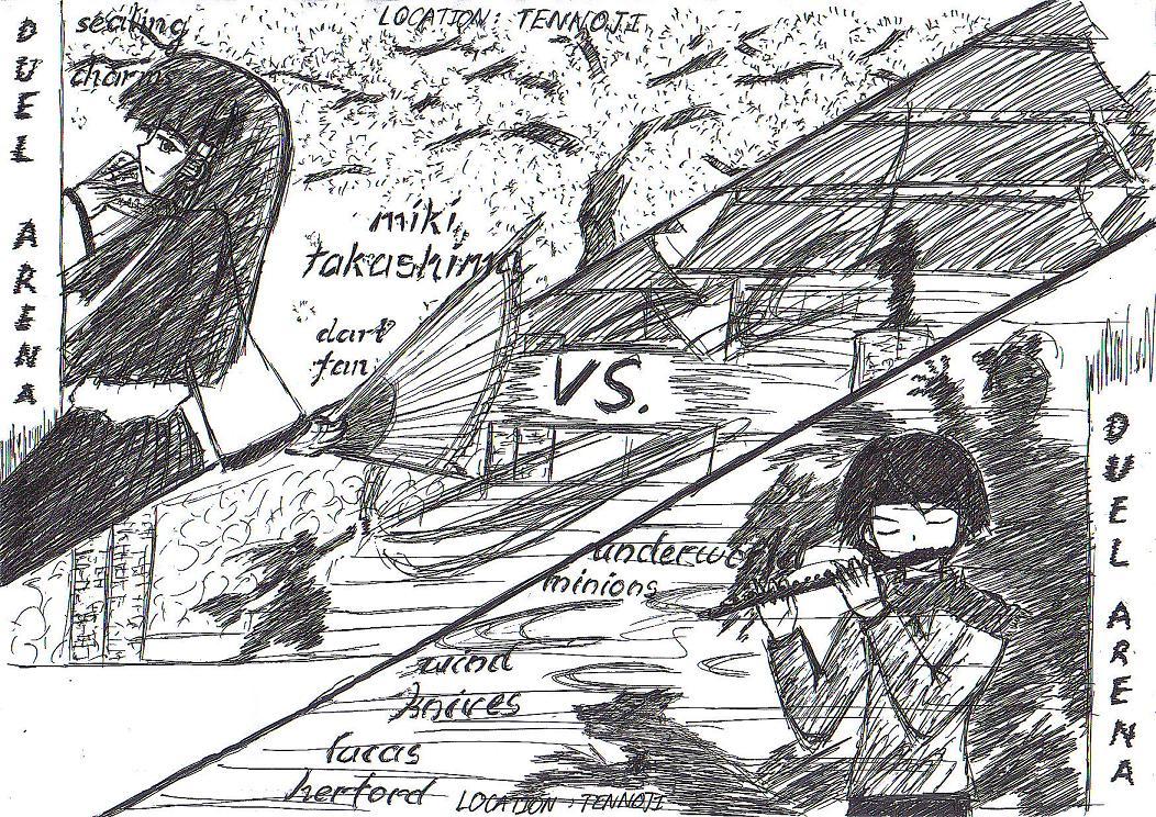 Duel Arena 4 by KajiTetsushi