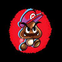 (FanArt) Goomba Mario by DNPinotti123