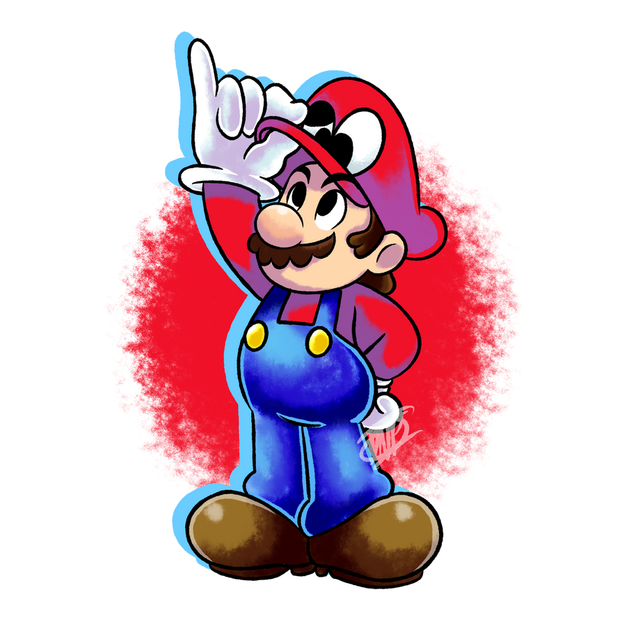 Fanart super mario odyssey vr 2 by dnpinotti123 on for Super mario odyssey paintings