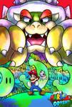 (FanArt) Super Mario Odyssey Poster