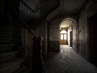 House by fibreciment