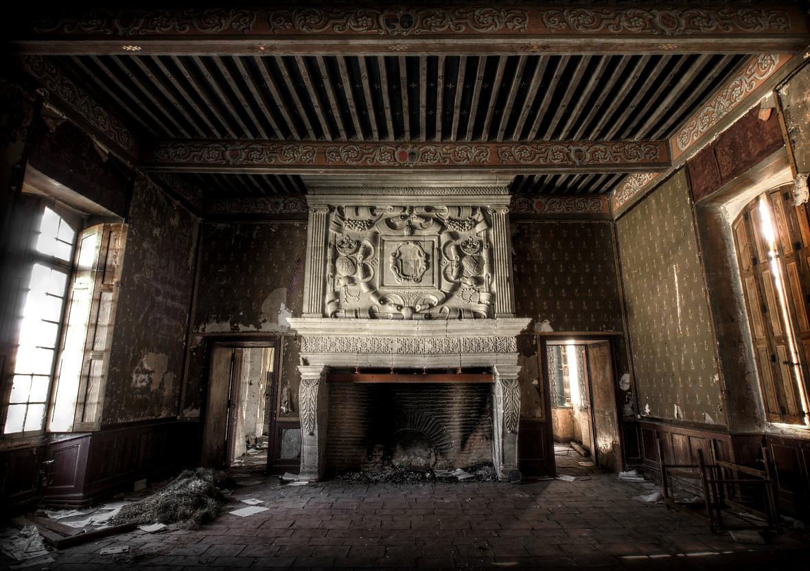 Curwen Castle by fibreciment