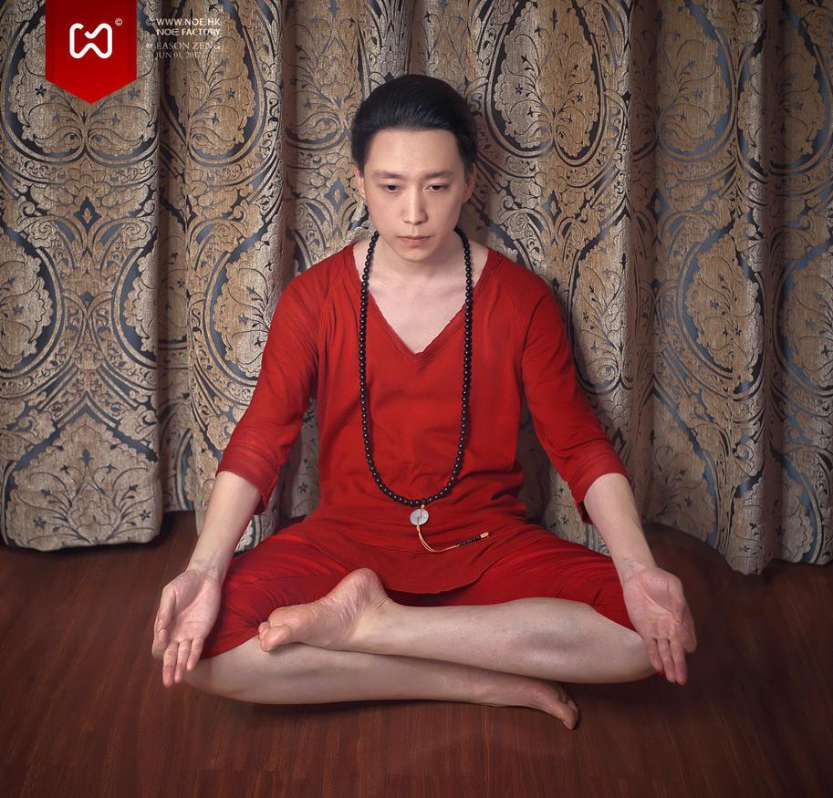 Zen meditation by easonz
