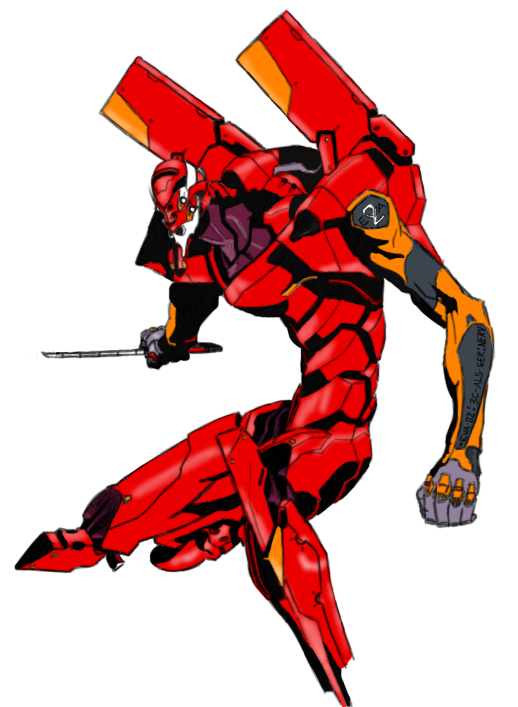 Evangelion Unit 02 by Lordmarshal on deviantART