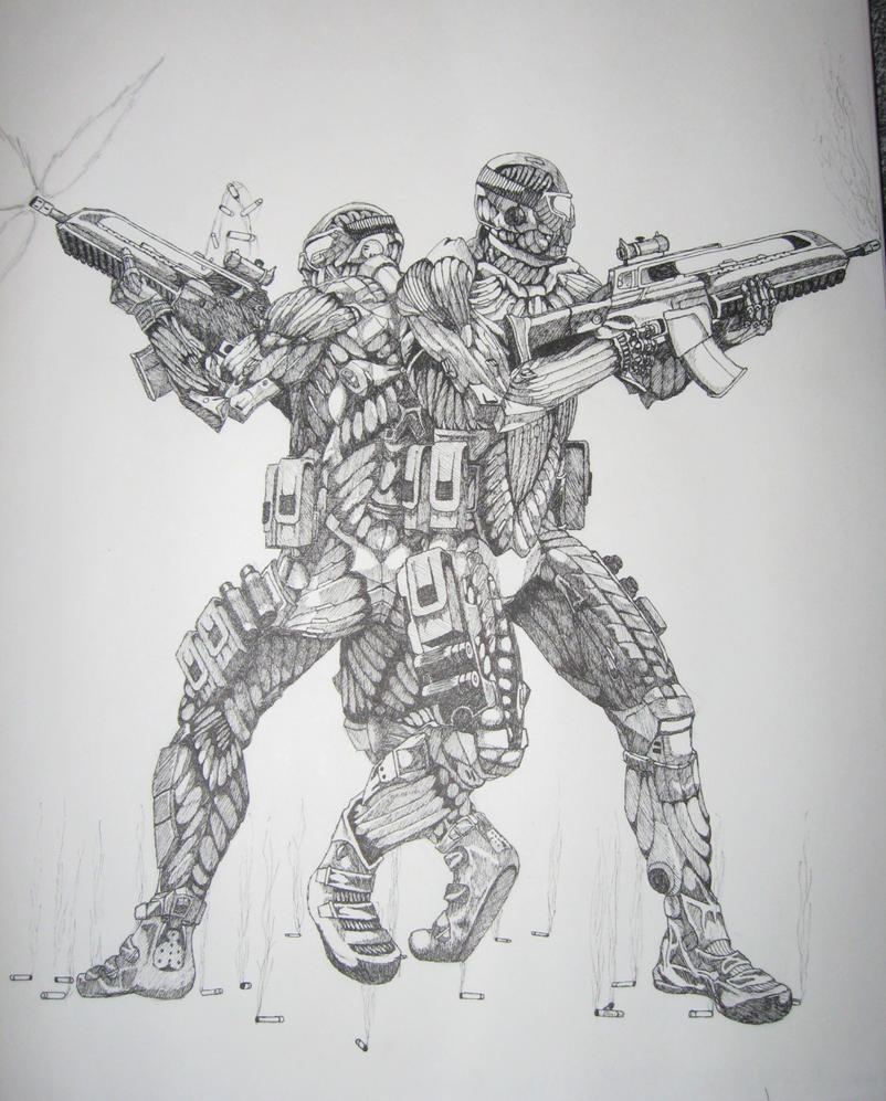 NanoSuit Troopers From Crysis By Lordmarshal On DeviantArt