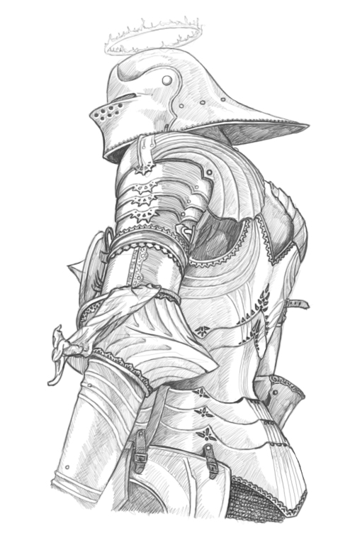 Knight In Shining Armor by Lordmarshal