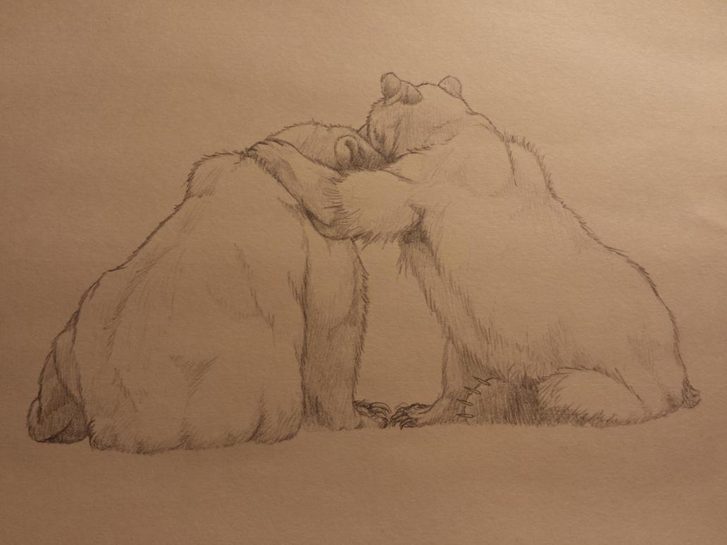 Bear hugs by Lordmarshal