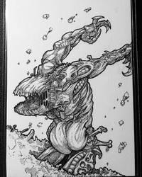 Zombie/Elemental Token