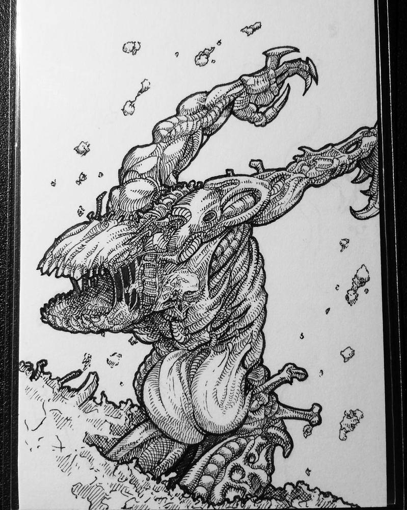 Zombie/Elemental Token by Lordmarshal