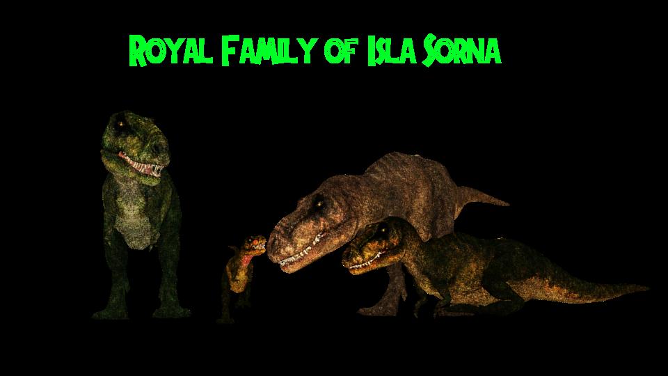 Isla sorna royal t rex family by gorgongorgosaurus on for T rex family
