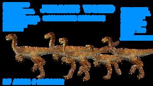 Gallimimus Jurassic World Remake by GorgonGorgosaurus