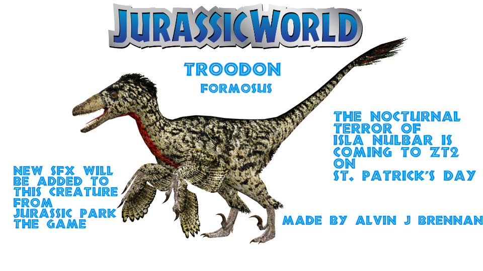 Troodon Jurassic World by GorgonGorgosaurus
