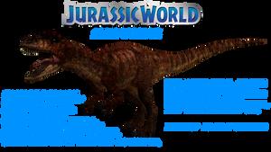 Allosaurus Jurassic World by GorgonGorgosaurus