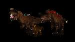 Ceratosaurus Mesozoic Mosaic Render V3