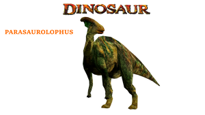 Parasaurolophus Disney's Dinosaur by GorgonGorgosaurus