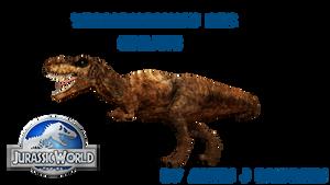 Tyrannosaurus Remake Jurassic World by GorgonGorgosaurus