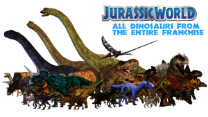Jurassic World Mega Pack by GorgonGorgosaurus
