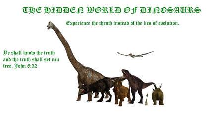 Hidden World Of Dinosaurs Wallpaper