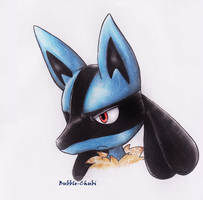 Lucario by Milaby