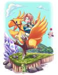 Final Fantasy IX - Chocobo Ride
