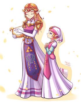 [Commission] Zelda