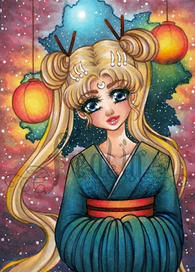 Sailor Moon Fanart by PrincessFealin